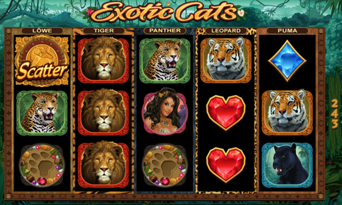 Exotic cats Spielautomat