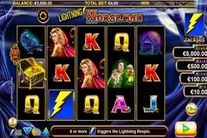 Lightning Horseman Spielautomat