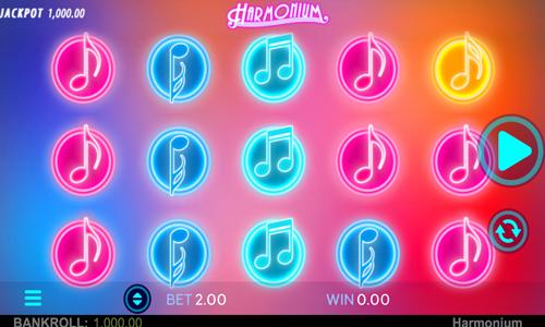 Harmonium Spielautomat