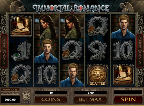 Immortal Romance Spielautomat Rezension