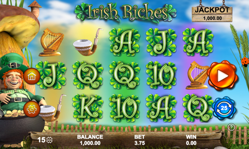 Irish Riches Spielautomat