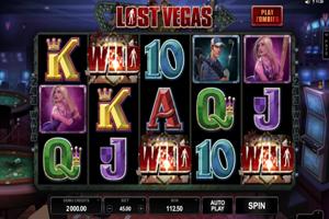 Lost Vegas Spielautomat