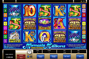 Mermaid Millions Slot