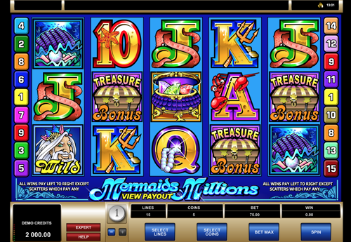 Mermaid Millions Slot Review