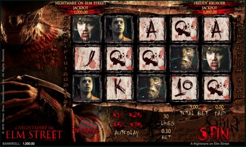 Nightmare on Elm street Spielautomat
