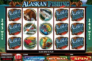 Alaskan fishing Spielautomat