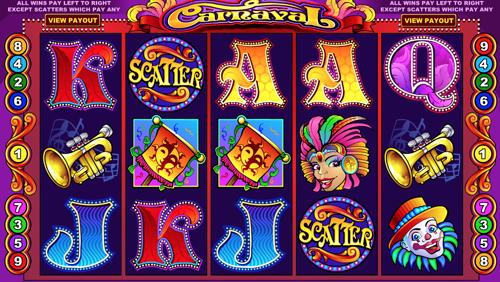 Carnaval Spielautomat Rezension