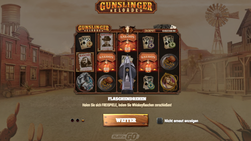 Gunslinger Reloaded Spielautomat
