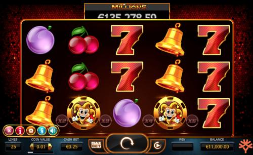 Joker Millions Spielautomat Rezension
