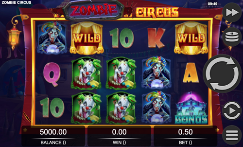 Zombie Circus Spielautomat