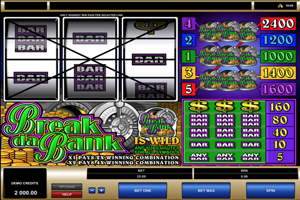 Break da Bank Spielautomat