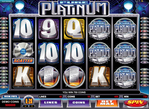 Pure Platinum Spielautomat Rezension