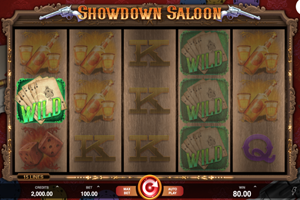 Showdown Saloon Spielautomat