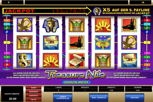 Treasure Nile Spielautomat