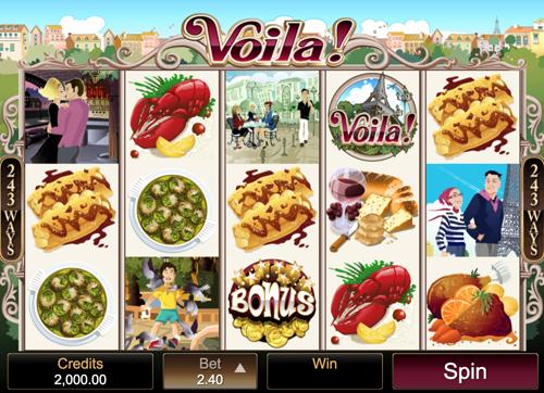 Voila Spielautomat Rezension