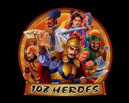 108 Heroes Spielautomat Rezension