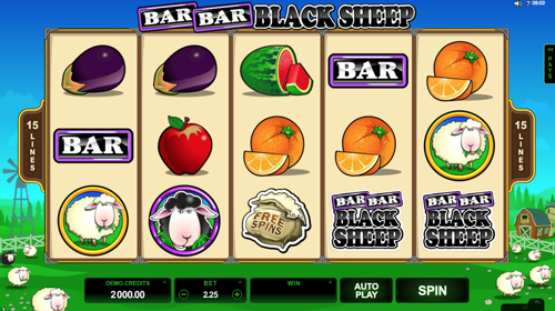 Bar Bar Black Sheep Spielautomat Rezension