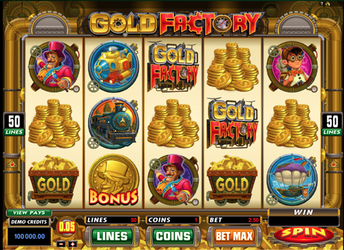 Gold Factory Spielautomat rezension