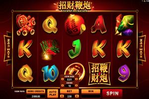 Lucky firecracker Spielautomat