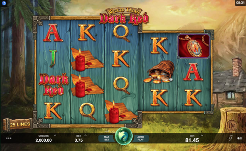 Wicked Tales Dark Red Spielautomat Rezension