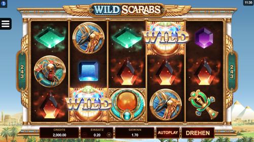 Wild Scarabs Spielautomat Rezension