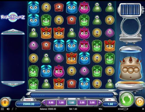 Reactoonz Spielautomat Rezension