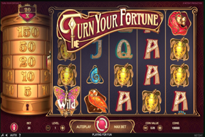 Turn your fortune Spielautomat