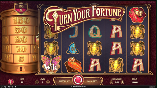 Turn your fortune Spielautomat rezension