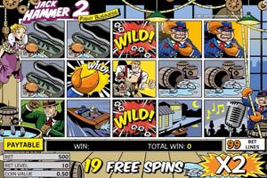 Jack Hammer 2 Spielautomat
