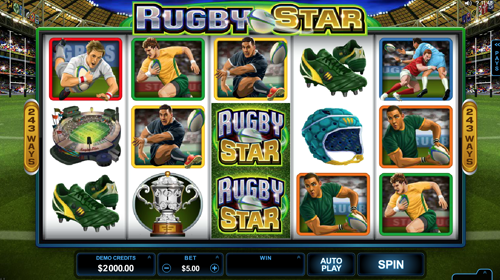 Rugby stars Spielautomat
