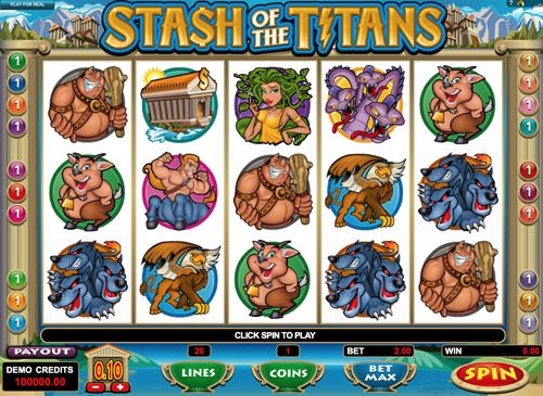 Stash of the Titans Spielautomat