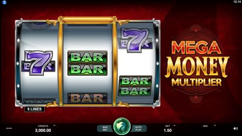 Mega Money Multiplier Spielautomat