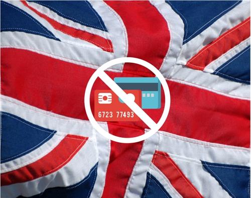 Kreditkartenzahlungen in Großbritannien