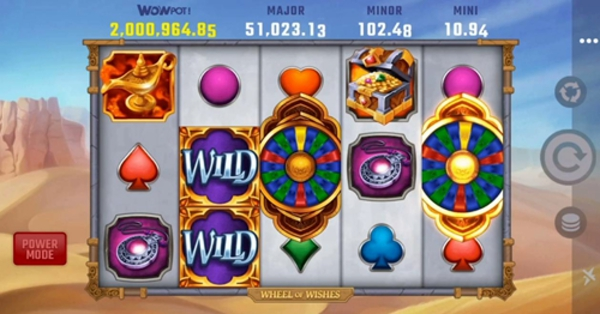 Wheel of Wishes Wild Slot